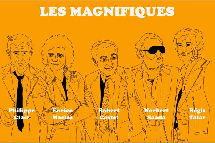 Affiche du film Les Magnifiques Jewpop