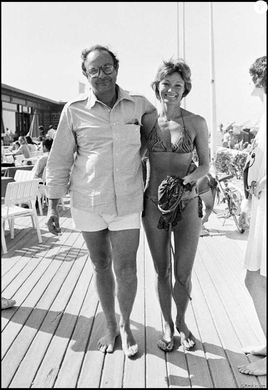 Photo représentant Stanley Donene et son épouse Yvette Mimieux au festival de Deauville en 1979 Jewpop