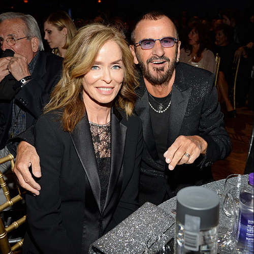 Photo représentant le couple Ringo Starr Barbara Bach Jewpop
