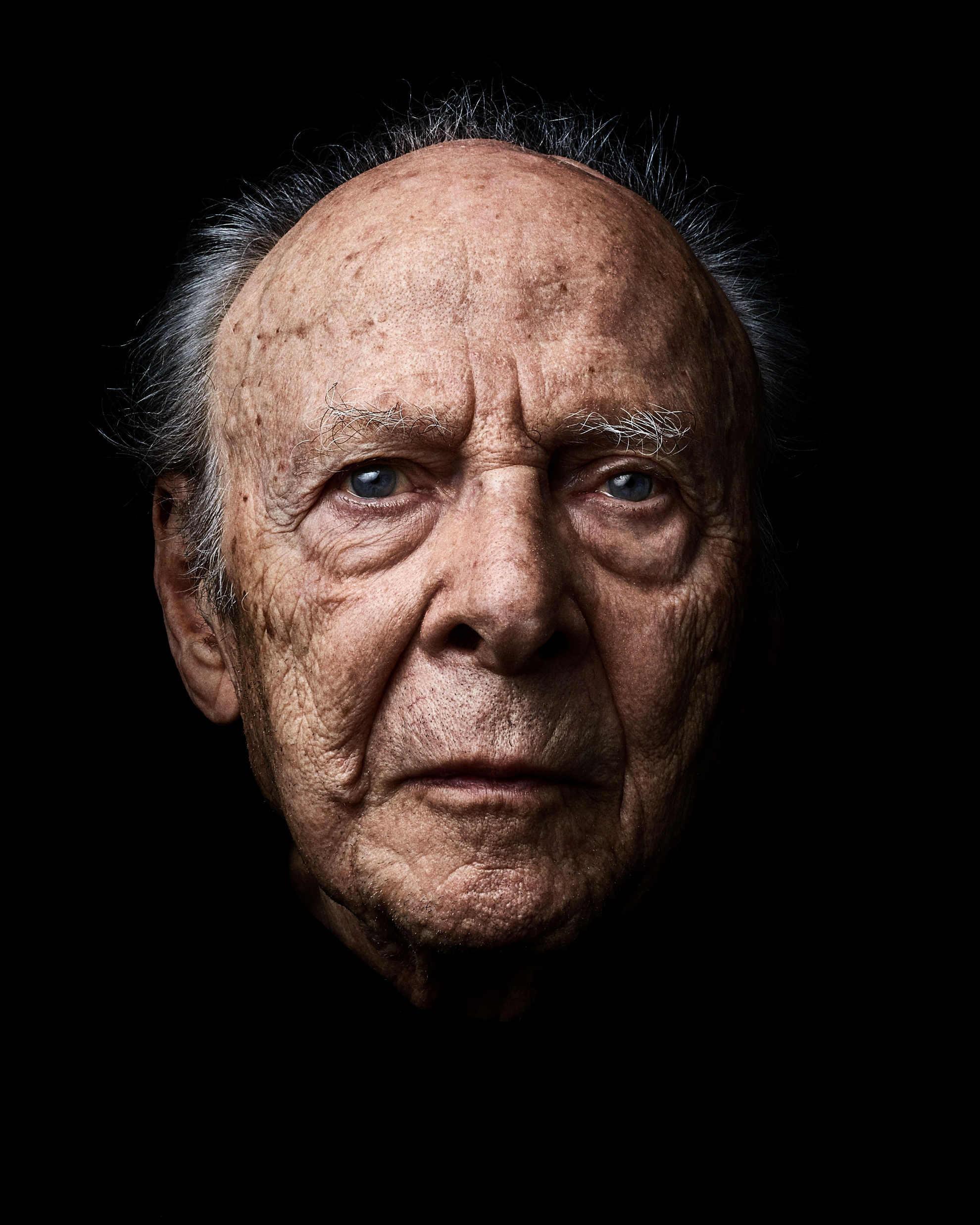 Photo de Henri Borlant, série Les Survivants par Rudy Waks Jewpop