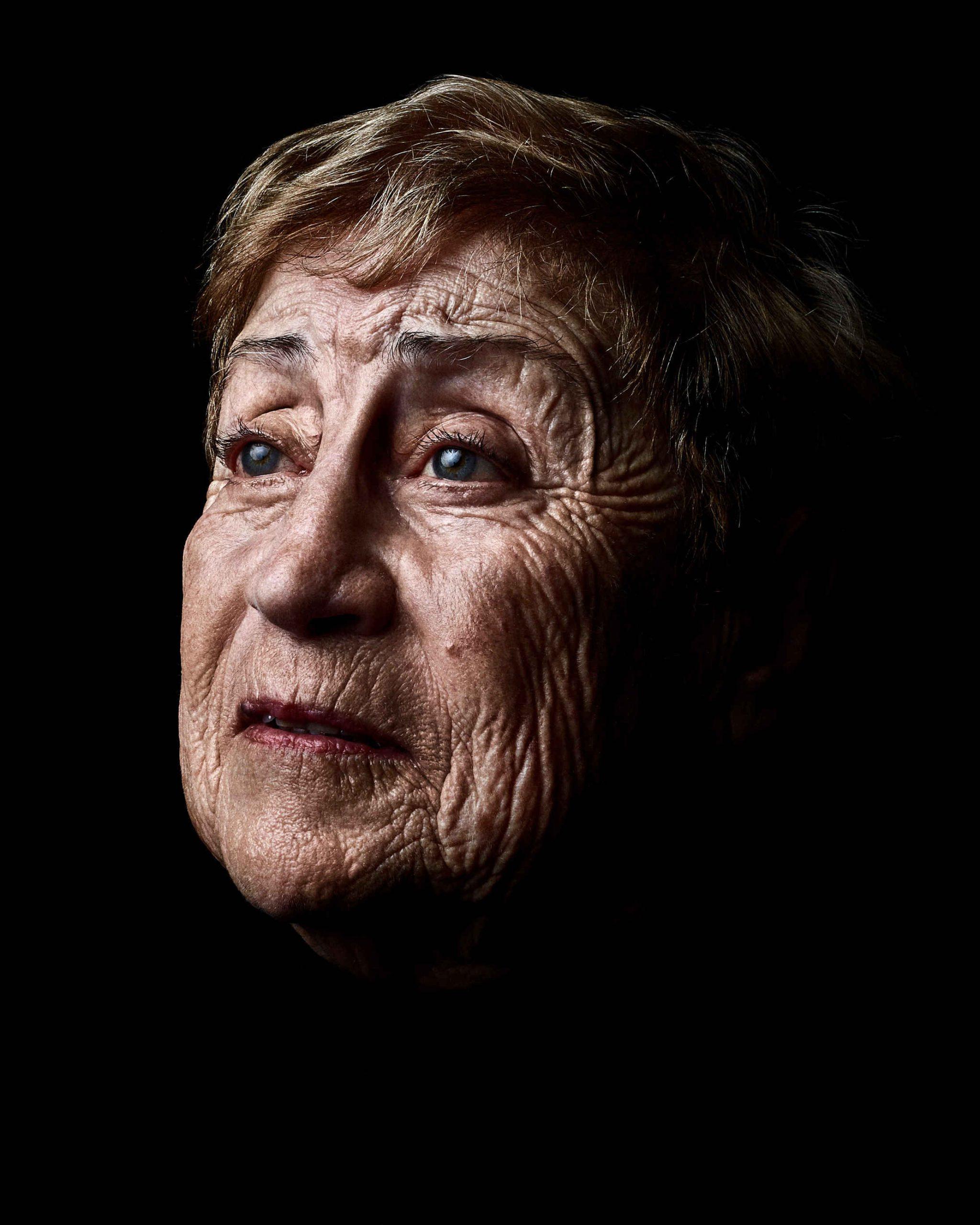 Photo de Marie Vaislic, série Les Survivants par Rudy Waks jewpop