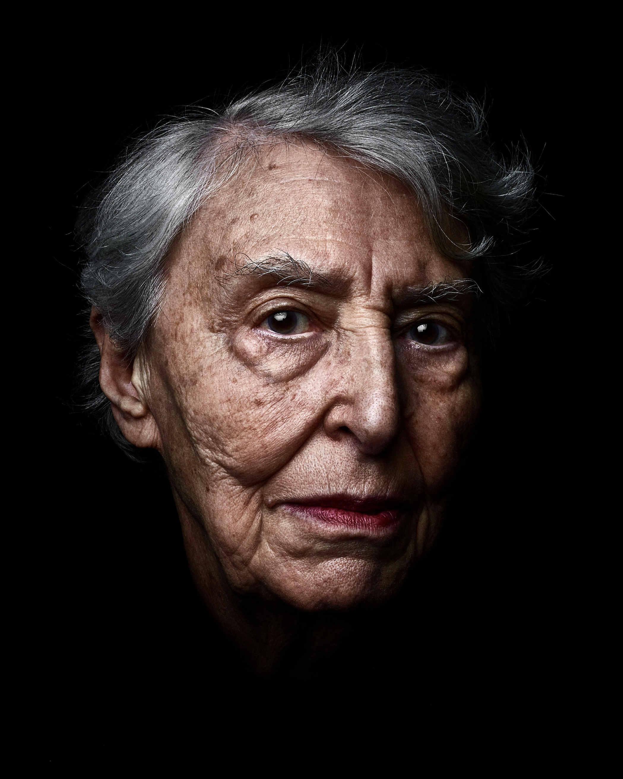 Photo d'Yvette Levy, série Les Survivants par Rudy Waks Jewpop
