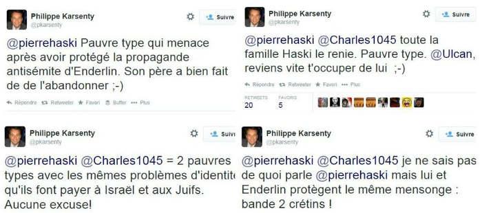 Tweets de Philippe Karsenty Jewpop