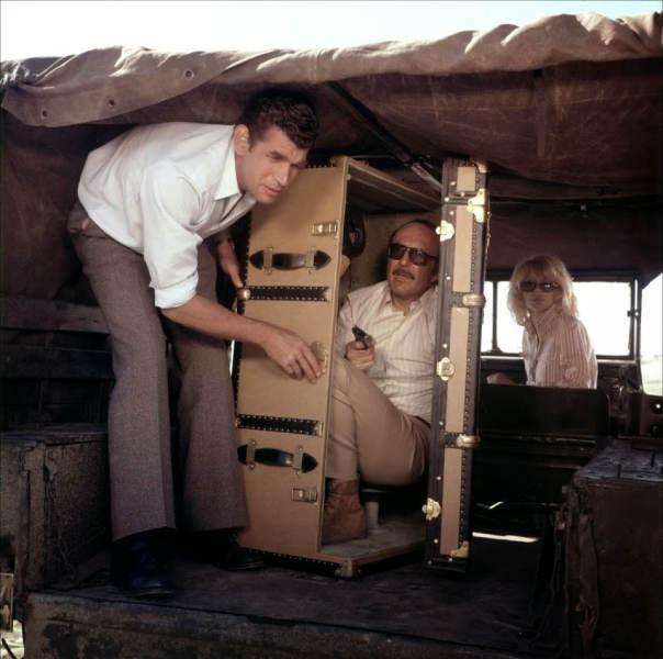 Photo extraite du film La Valise avec Jean-Pierre Marielle Jewpop