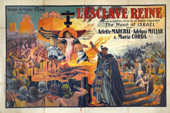 Affiche du film Moon of Israel de Michael Curtiz Jewpop