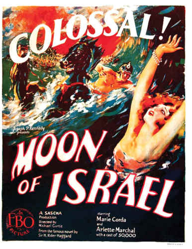 Affiche du film Moon of Israel Jewpop