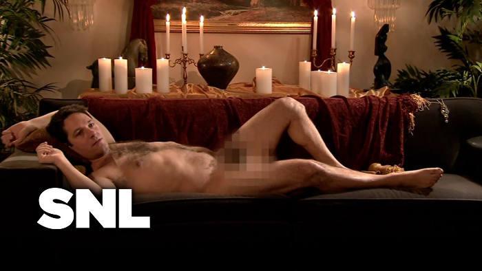 Photo extraite de l'émission Saturday Night Live avec Paul Rudd nu Jewpop