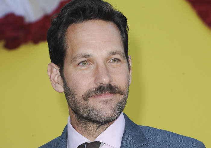Photo de Paul Rudd moustachu en 2016 Jewpop