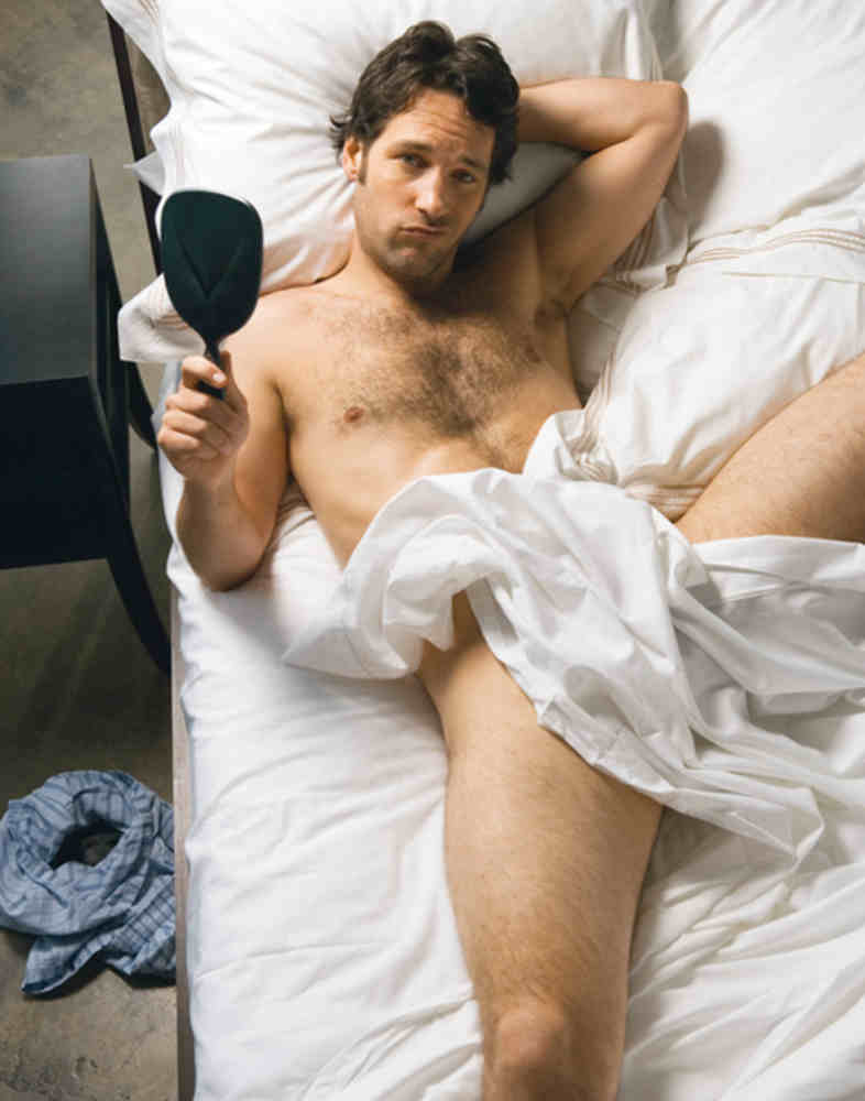 Photo de Paul Rudd dans son lit Jewpop