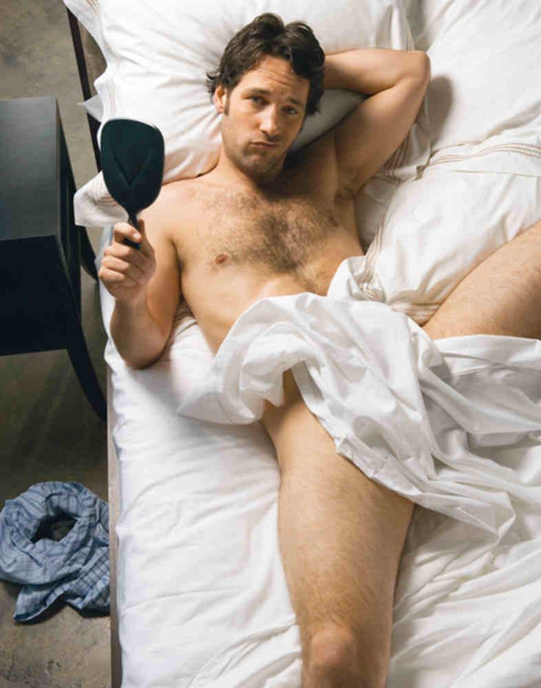 Photo de Paul Rudd dans son lit Jewpop
