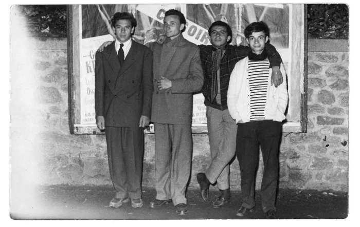 Photo de René Utreger et Georges Kiejman en 1952 Jewpop