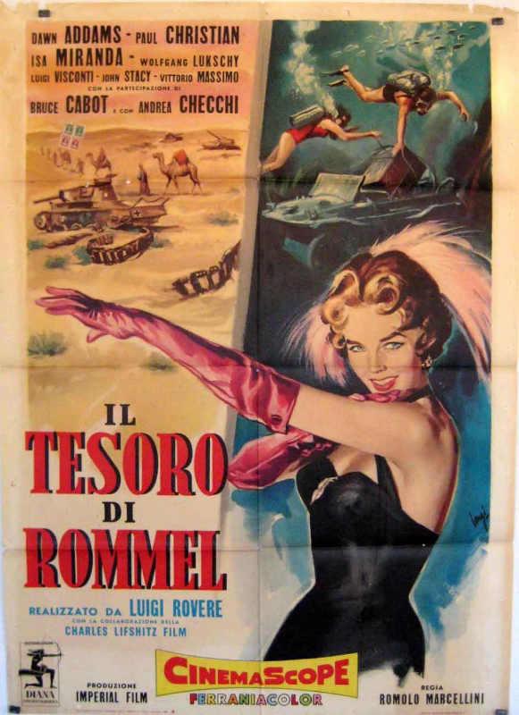 Affiche du film Le Tresor de Rommel Jewpop