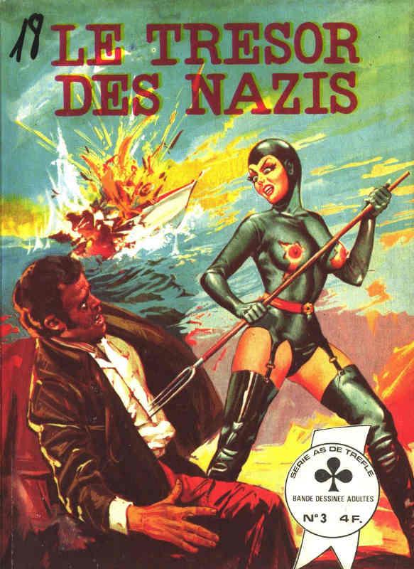 Couverture du livre Le tresor des nazis Jewpop