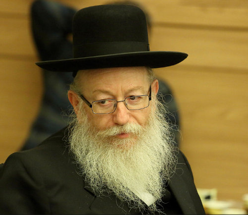 Photo de Yaacov Litzman Jewpop
