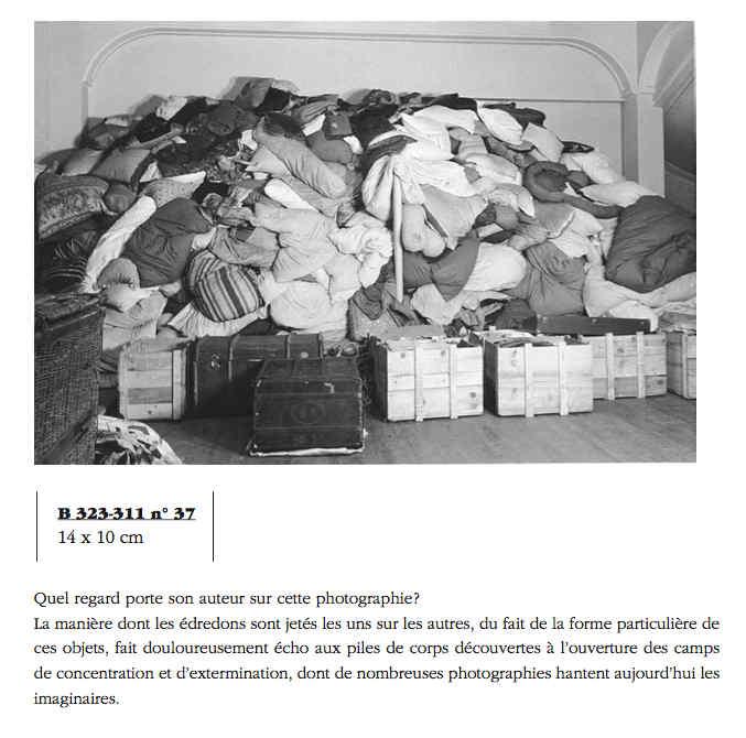 Photo représentant des matelas dans le camp Lévitan Jewpop