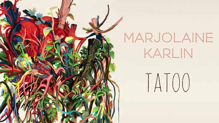 Pochette de l'album Tatoo Toota de Marjolaine Karlin Jewpop