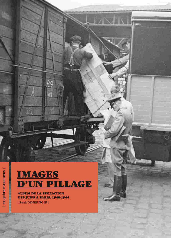 Phoot de couverture du livre Images d'un pillage spoluiation biens juifs Jewpop