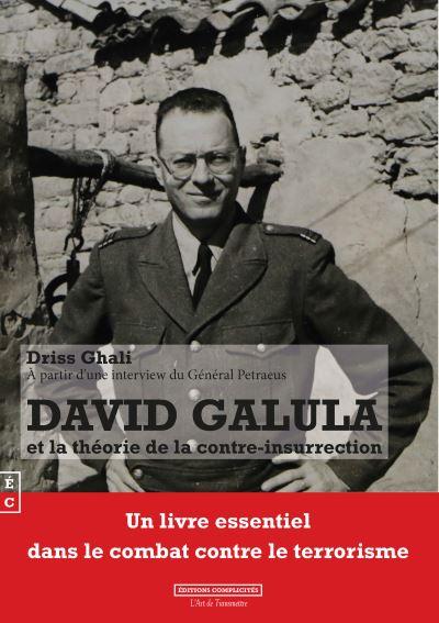 Couverture de l'essai de Driss Ghali sur David Galula Jewpop