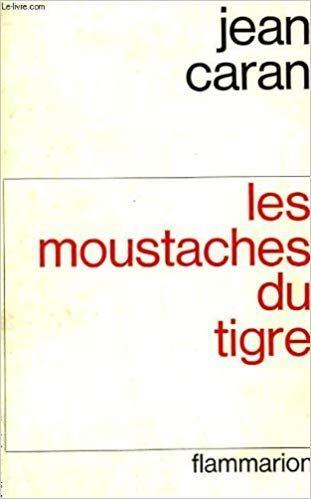 Couverture du roman Les moustaches du tigre David Galula Jewpop