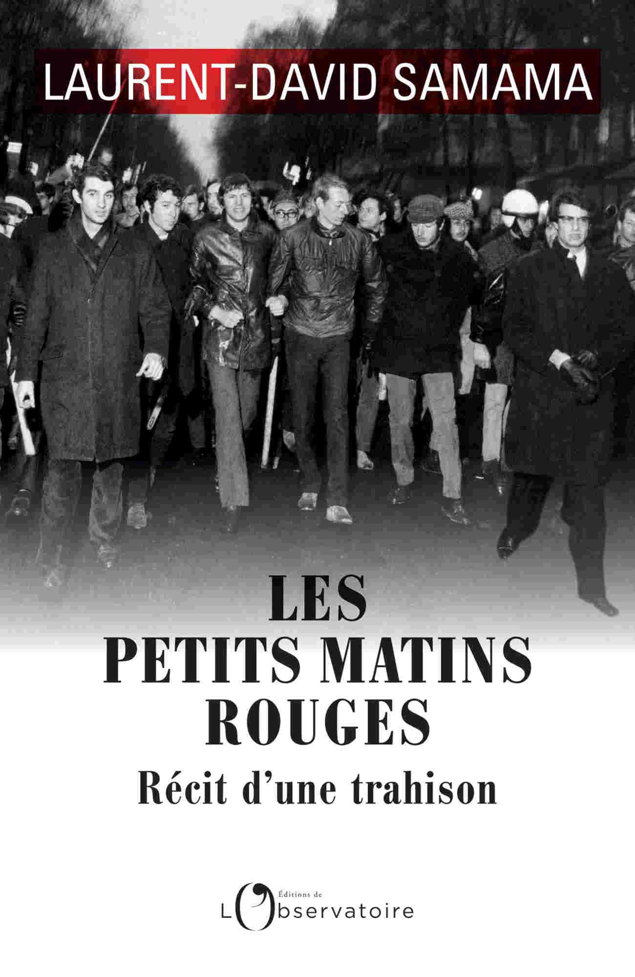 Couverture du livre Les Petits Matin Rouges de Laurent-David Samama Jewpop