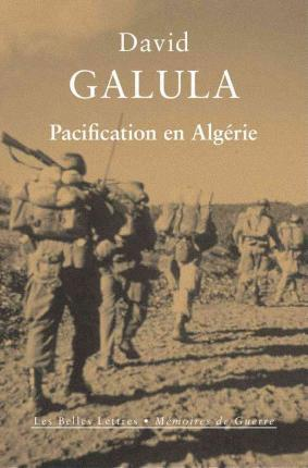 Couverture du livre de David GAlula Pacifiacation en Algérie Jewpop