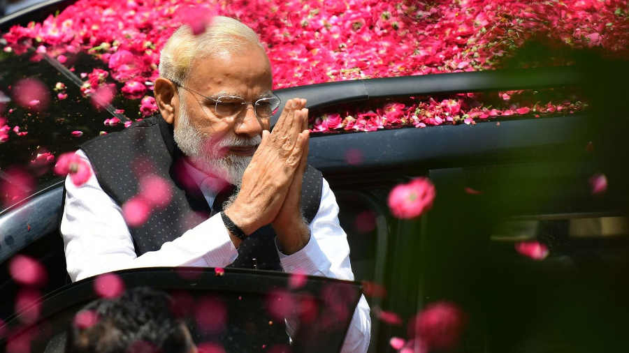 Narendra Modi premier ministre indien Jewpop