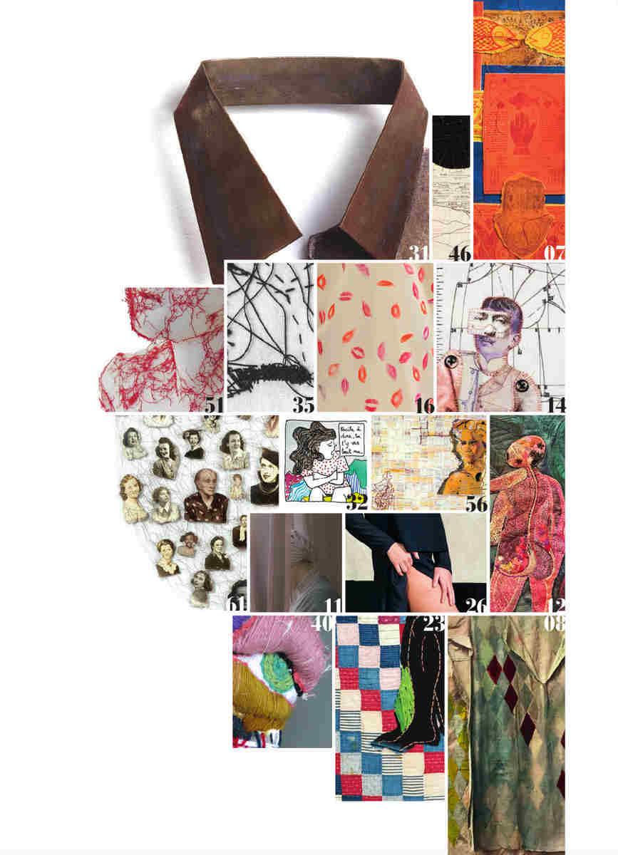 Sommaire magazine Tenou'a texte et textile