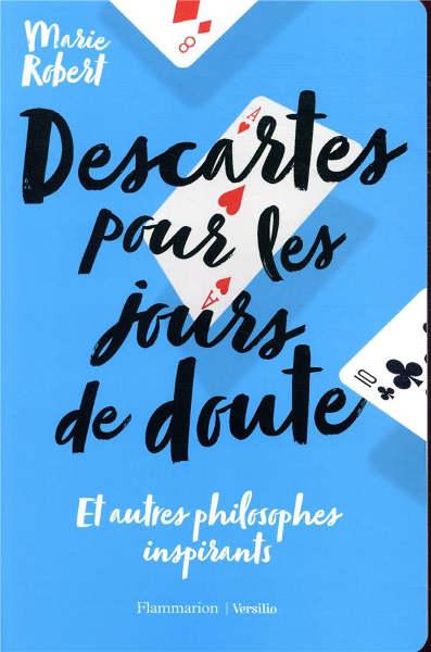 Couverture du livre de Marie Robert Descartes pour les jours de doute Jewpop