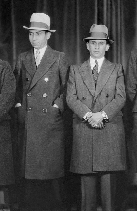 Photo représentant Lucky Luciano et Meyer Lansky casinos Jewpop