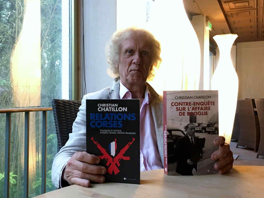 Photo de l'écrivain et journaliste Christian Chatillon Jewpop