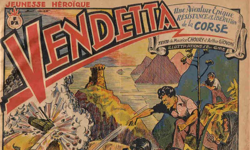 Couverture de la bd Vendetta Corse Jewpop
