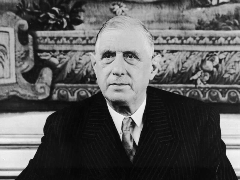 Photo du général de Gaulle Jewpop