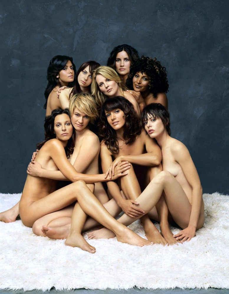 Photo des actrices de la série L-World Jewpop
