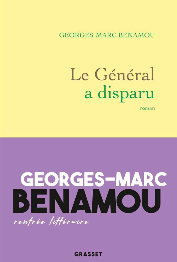 Couverture du roman de Georges-Marc Benamou Le Général a disparu Jewpop
