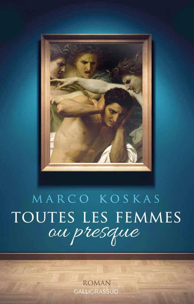 Couverture du roman de Marco Koskas Toutes les femmes ou presque Jewpop