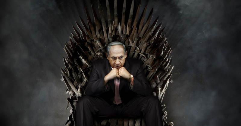 Photomontage de Bibi Netanyahou Game of Thrones Jewpop