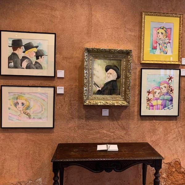 Photo de l'exposition de Thomas Lay maga juif Jewpop