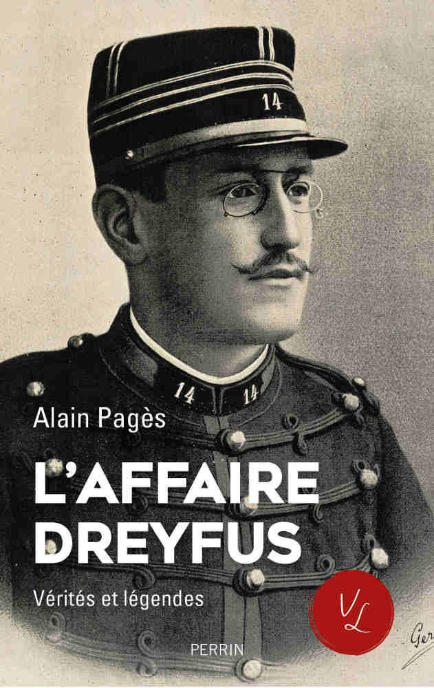 Couverture du livre d'Alain Pagès L'Affaire Dreyfus Jewpop