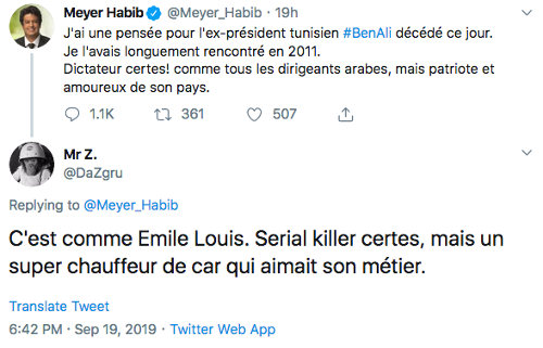 Tweet Meyer Habib Jewpop