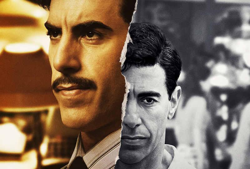 Affiche de la série The Spy avec Sacha Baron Cohen Netflix Jewpop