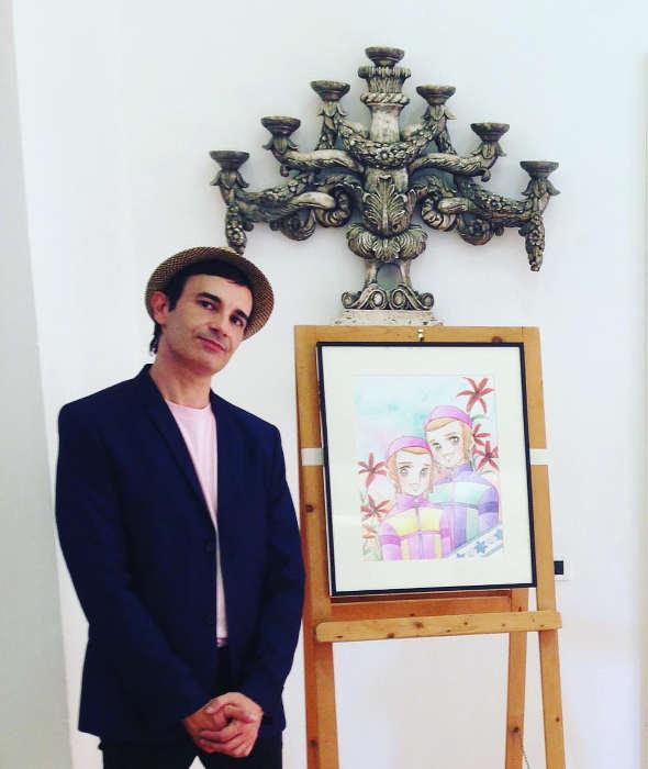 Photo de Thomas Lay manga juif Jewpop