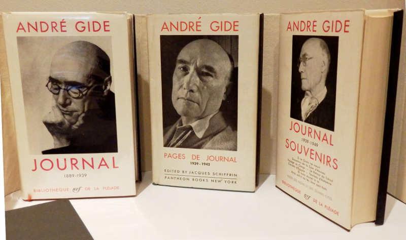 Photos de livres d'André Gide édités par Jacques Schiffrin Jewpop