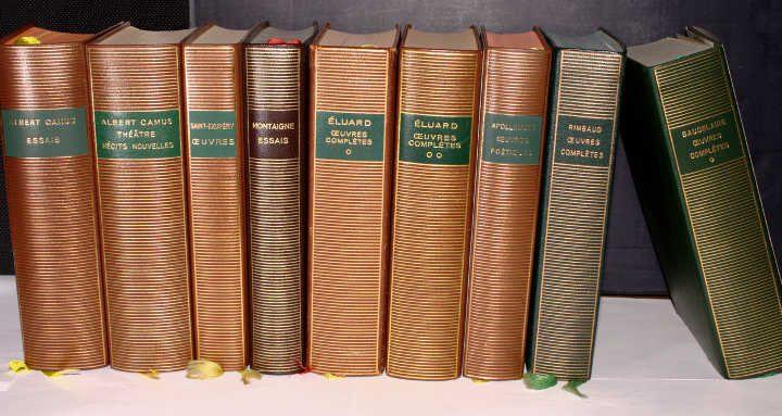 Photos de livres de la Bibliothèque de La Pléiade Jewpop
