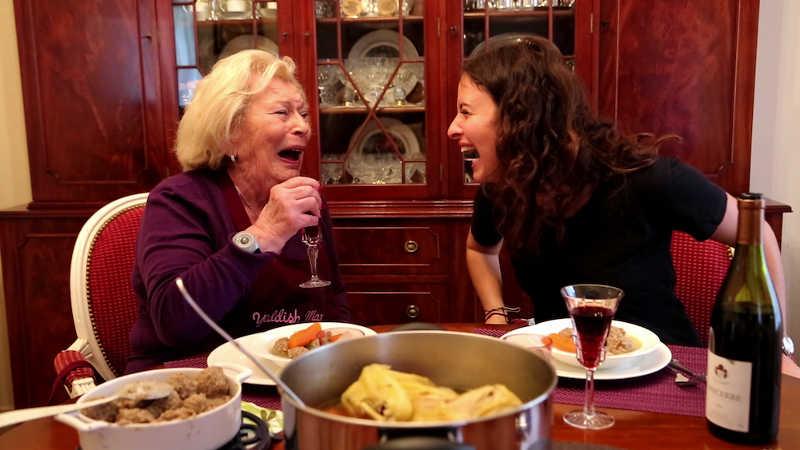 Photo extraite d'un film Grandmas Project Jewpop