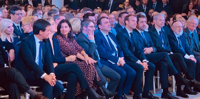 Inauguration du centre Européen du Judaïsme Jewpop