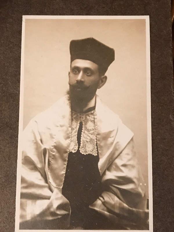 Photo du rabbin de Neuilly Isaac Sawelski Jewpop