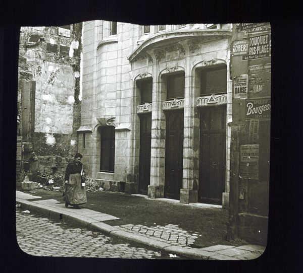 Photo de la synagogue rue Pavée Mahj Jewpop