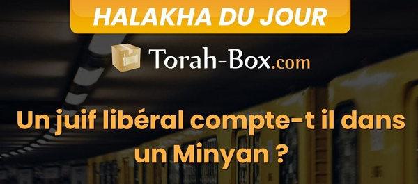 Capture d'écran du visuel Torah Box minyan juifs libéraux Jewpop