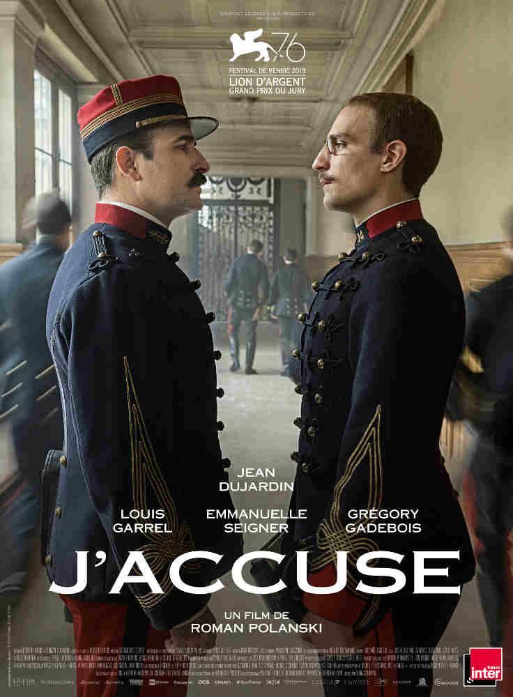 Affiche du film J'accuse de Roman Polanski Jewpop