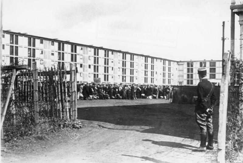 Photo du camp de Drancy Jewpop